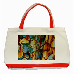 Rusty texture                         Classic Tote Bag (Red)