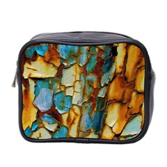 Rusty texture                         Mini Toiletries Bag (Two Sides)