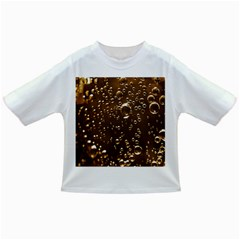 Festive Bubbles Sparkling Wine Champagne Golden Water Drops Infant/Toddler T-Shirts