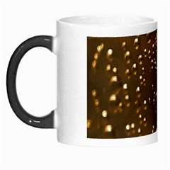 Festive Bubbles Sparkling Wine Champagne Golden Water Drops Morph Mugs
