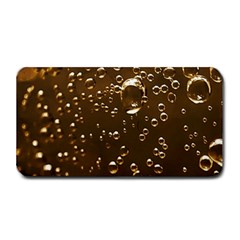 Festive Bubbles Sparkling Wine Champagne Golden Water Drops Medium Bar Mats