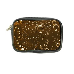 Festive Bubbles Sparkling Wine Champagne Golden Water Drops Coin Purse
