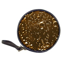Festive Bubbles Sparkling Wine Champagne Golden Water Drops Classic 20-CD Wallets