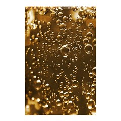 Festive Bubbles Sparkling Wine Champagne Golden Water Drops Shower Curtain 48  X 72  (small)