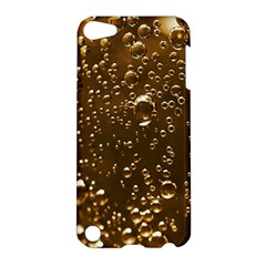 Festive Bubbles Sparkling Wine Champagne Golden Water Drops Apple iPod Touch 5 Hardshell Case