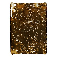 Festive Bubbles Sparkling Wine Champagne Golden Water Drops Apple Ipad Mini Hardshell Case