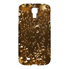 Festive Bubbles Sparkling Wine Champagne Golden Water Drops Samsung Galaxy S4 I9500/I9505 Hardshell Case