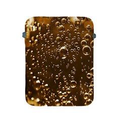 Festive Bubbles Sparkling Wine Champagne Golden Water Drops Apple Ipad 2/3/4 Protective Soft Cases