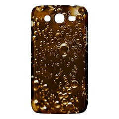 Festive Bubbles Sparkling Wine Champagne Golden Water Drops Samsung Galaxy Mega 5.8 I9152 Hardshell Case