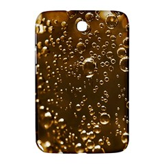 Festive Bubbles Sparkling Wine Champagne Golden Water Drops Samsung Galaxy Note 8.0 N5100 Hardshell Case
