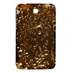 Festive Bubbles Sparkling Wine Champagne Golden Water Drops Samsung Galaxy Tab 3 (7 ) P3200 Hardshell Case