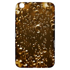 Festive Bubbles Sparkling Wine Champagne Golden Water Drops Samsung Galaxy Tab 3 (8 ) T3100 Hardshell Case