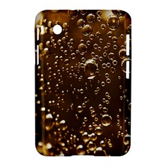 Festive Bubbles Sparkling Wine Champagne Golden Water Drops Samsung Galaxy Tab 2 (7 ) P3100 Hardshell Case