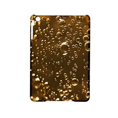 Festive Bubbles Sparkling Wine Champagne Golden Water Drops iPad Mini 2 Hardshell Cases