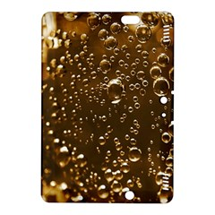 Festive Bubbles Sparkling Wine Champagne Golden Water Drops Kindle Fire HDX 8.9  Hardshell Case