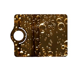 Festive Bubbles Sparkling Wine Champagne Golden Water Drops Kindle Fire HD (2013) Flip 360 Case