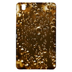 Festive Bubbles Sparkling Wine Champagne Golden Water Drops Samsung Galaxy Tab Pro 8 4 Hardshell Case