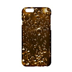 Festive Bubbles Sparkling Wine Champagne Golden Water Drops Apple iPhone 6/6S Hardshell Case