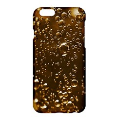 Festive Bubbles Sparkling Wine Champagne Golden Water Drops Apple iPhone 6 Plus/6S Plus Hardshell Case