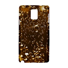 Festive Bubbles Sparkling Wine Champagne Golden Water Drops Samsung Galaxy Note 4 Hardshell Case