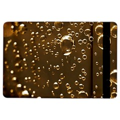 Festive Bubbles Sparkling Wine Champagne Golden Water Drops Ipad Air 2 Flip