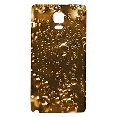 Festive Bubbles Sparkling Wine Champagne Golden Water Drops Galaxy Note 4 Back Case