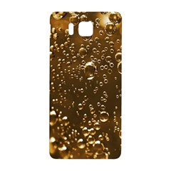 Festive Bubbles Sparkling Wine Champagne Golden Water Drops Samsung Galaxy Alpha Hardshell Back Case