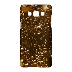 Festive Bubbles Sparkling Wine Champagne Golden Water Drops Samsung Galaxy A5 Hardshell Case