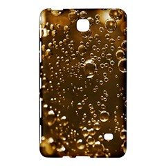 Festive Bubbles Sparkling Wine Champagne Golden Water Drops Samsung Galaxy Tab 4 (7 ) Hardshell Case