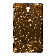 Festive Bubbles Sparkling Wine Champagne Golden Water Drops Samsung Galaxy Tab S (8 4 ) Hardshell Case