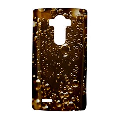 Festive Bubbles Sparkling Wine Champagne Golden Water Drops LG G4 Hardshell Case