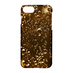 Festive Bubbles Sparkling Wine Champagne Golden Water Drops Apple iPhone 7 Hardshell Case