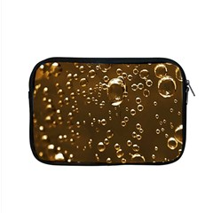 Festive Bubbles Sparkling Wine Champagne Golden Water Drops Apple MacBook Pro 15  Zipper Case