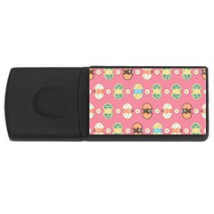 Cute Eggs Pattern USB Flash Drive Rectangular (4 GB)