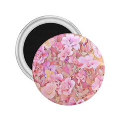 Lovely Floral 36a 2.25  Magnets