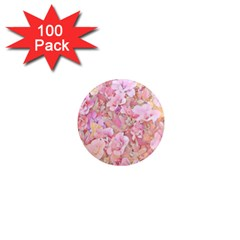 Lovely Floral 36a 1  Mini Magnets (100 pack)