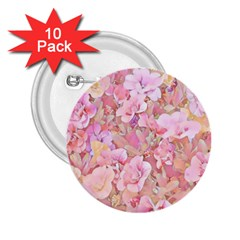 Lovely Floral 36a 2.25  Buttons (10 pack)