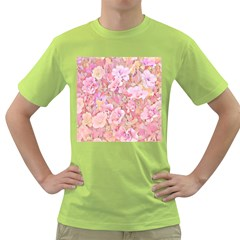 Lovely Floral 36a Green T-Shirt