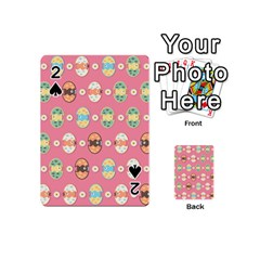 Cute Eggs Pattern Playing Cards 54 (Mini)