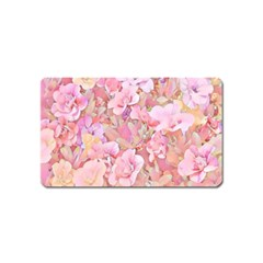 Lovely Floral 36a Magnet (Name Card)