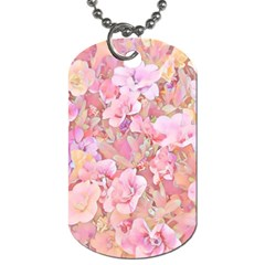Lovely Floral 36a Dog Tag (One Side)