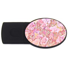 Lovely Floral 36a USB Flash Drive Oval (1 GB)