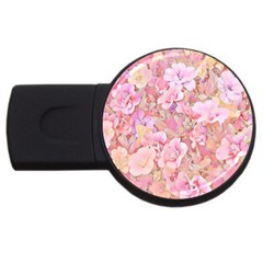 Lovely Floral 36a USB Flash Drive Round (4 GB)