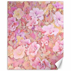 Lovely Floral 36a Canvas 16  x 20