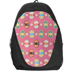 Cute Eggs Pattern Backpack Bag