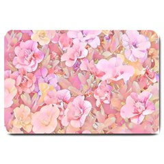 Lovely Floral 36a Large Doormat