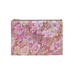 Lovely Floral 36a Cosmetic Bag (Medium)