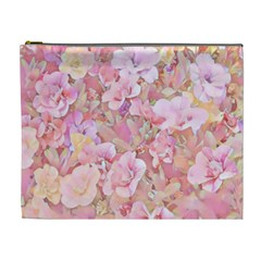 Lovely Floral 36a Cosmetic Bag (XL)