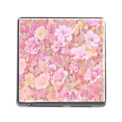 Lovely Floral 36a Memory Card Reader (Square)