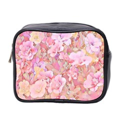 Lovely Floral 36a Mini Toiletries Bag 2-Side